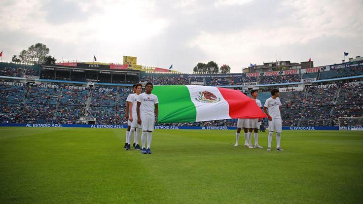 Cruz Azul vs América primer partido en el Azul después del sismo - Medio Tiempo.com