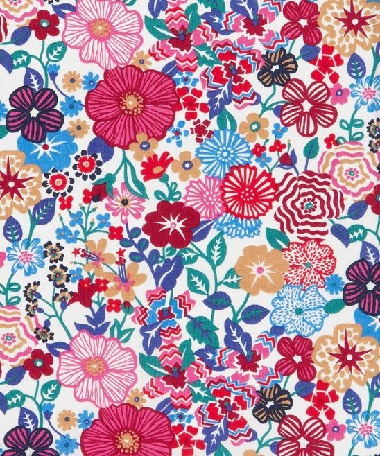 Latest Tana Lawn Liberty's print, called Beth's Flowers. Inspired by photographs taken of flowers in Tresco Abbey Gardens, on the family-owned island of Tresco, one of the 5 inhabited of about 200 Scilly Isles (28 miles south of Cornwall).