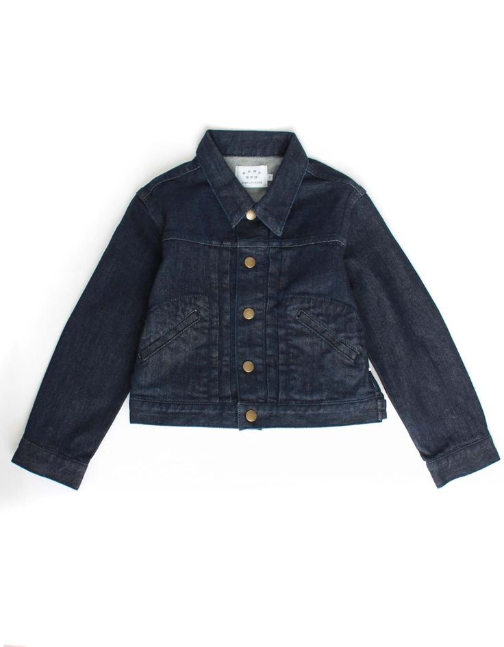 East End Highlanders Indigo Denim Jacket | Accent Clothing