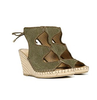 "Franco Sarto® ""Nash"" Wedge Sandals"