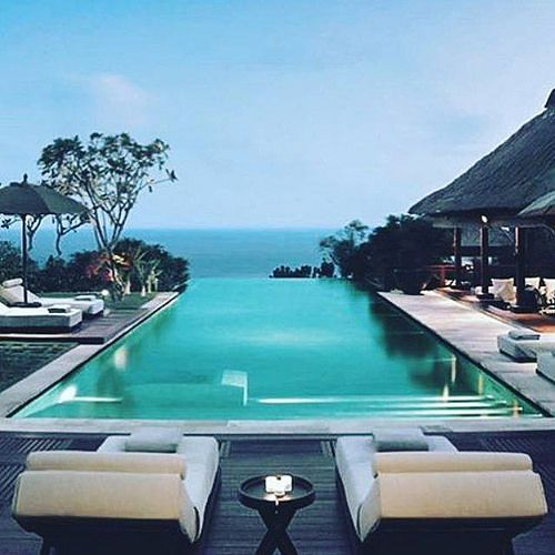 We caught some rays at the Yankee game today but this shot by @eurvin_ has us dreaming of bluer oceans...  #bali #balilocal #love #travel #jetsetter #villalyf #beautiful #summer #holidays #sun #bikini #pool #chasethesun #wanderlust #happyday