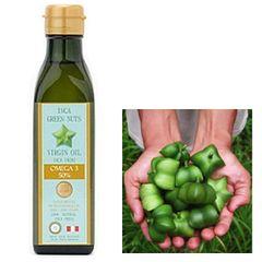 【10%OFF】オメガ3系のα−リノレイン酸、EPA、及びDHAとビタミンE豊富アマゾングリーンナッツオイル
