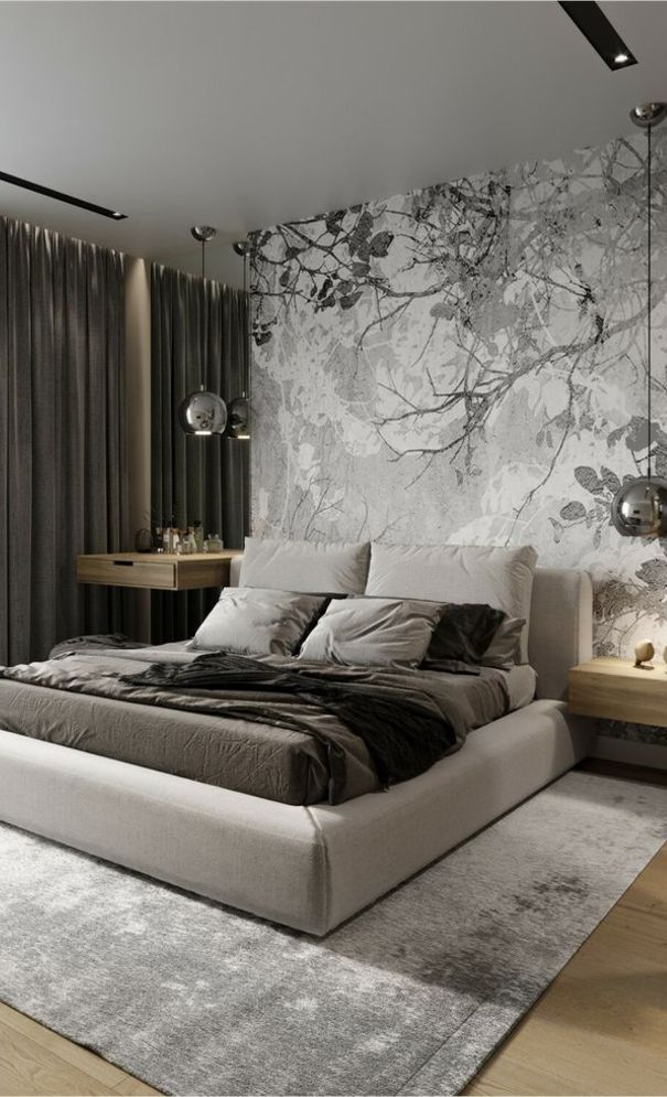 59 New Trend Modern Bedroom Design Ideas For 2020 Part 22 Luxurious Bedrooms Bedroom Layouts Modern Bedroom Design