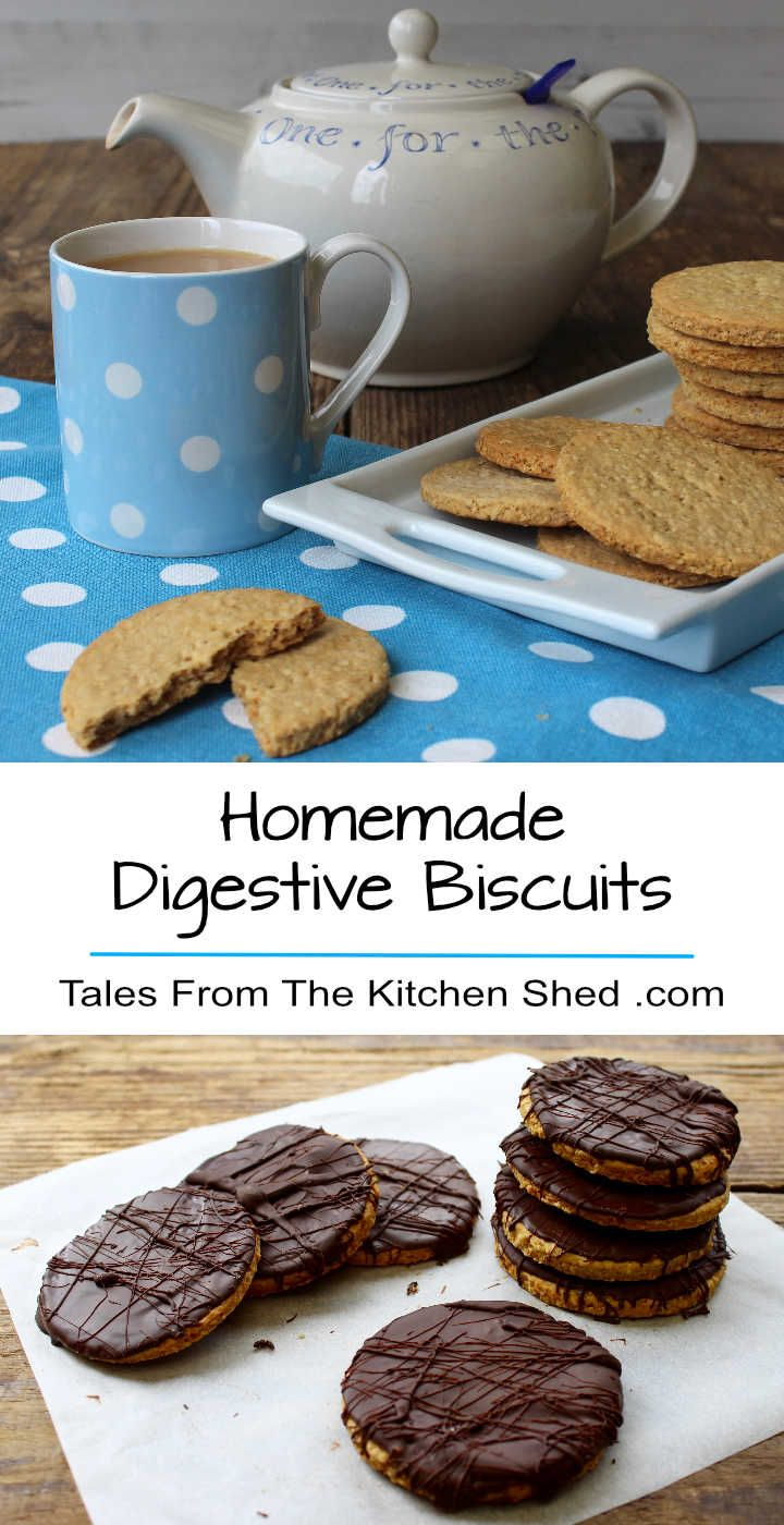 You'll love this Digestive Biscuits Recipe. Choose the healthy sugar free option or sweeten with golden syrup and cover with dark chocolate -…