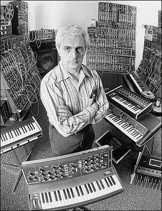 Bob Moog, creator of the Moog synthesizer