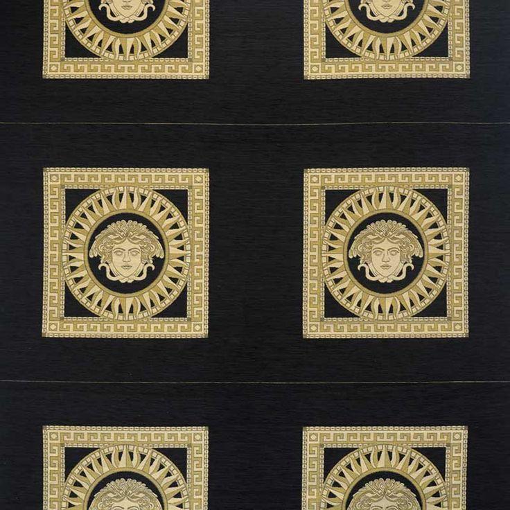 Warwick Fabrics : MEDUSA, Colour RAVEN