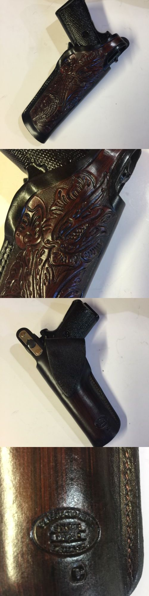 Holsters 177885: Colt 1911 45 Model,Remington,Ria,Springfield, 5 Barrel, Kimber Leather Holster -> BUY IT NOW ONLY: $39.99 on eBay!