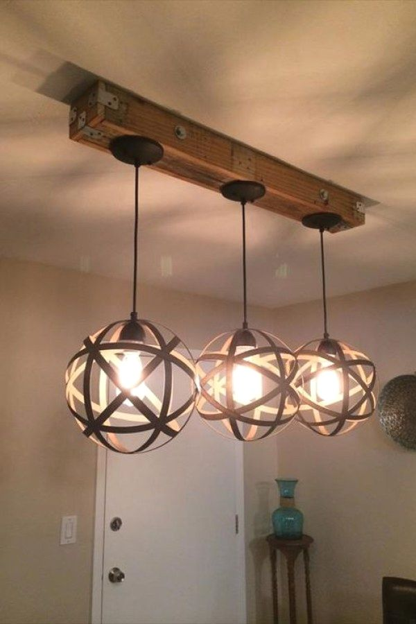 Beautiful Rustic Style Lighting Fixture Ideas To Accent Your