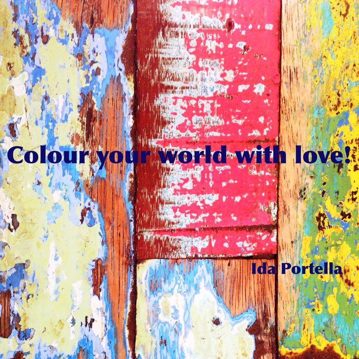 Your world should be filled with love!