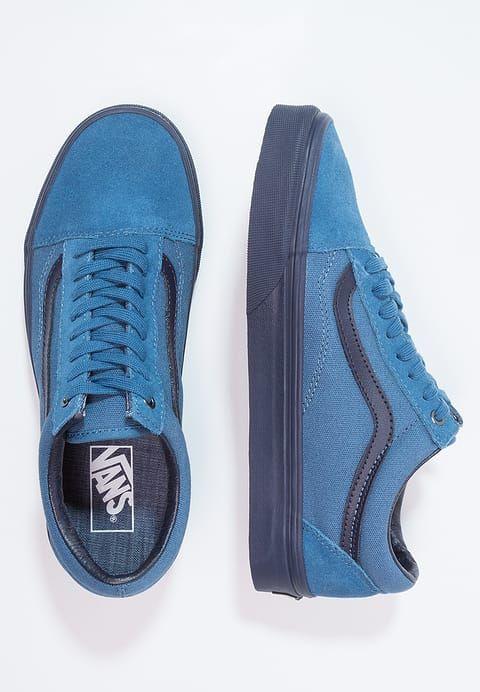 Chaussures Vans OLD SKOOL - Baskets basses - blue ashes/parisian night bleu foncé: 80,00 € chez Zalando (au 21/03/17). Livraison et retours gratuits et service client gratuit au 0800 915 207.