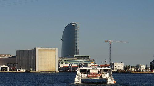 Hotel Vela W en Barcelona en mi Euroviaje