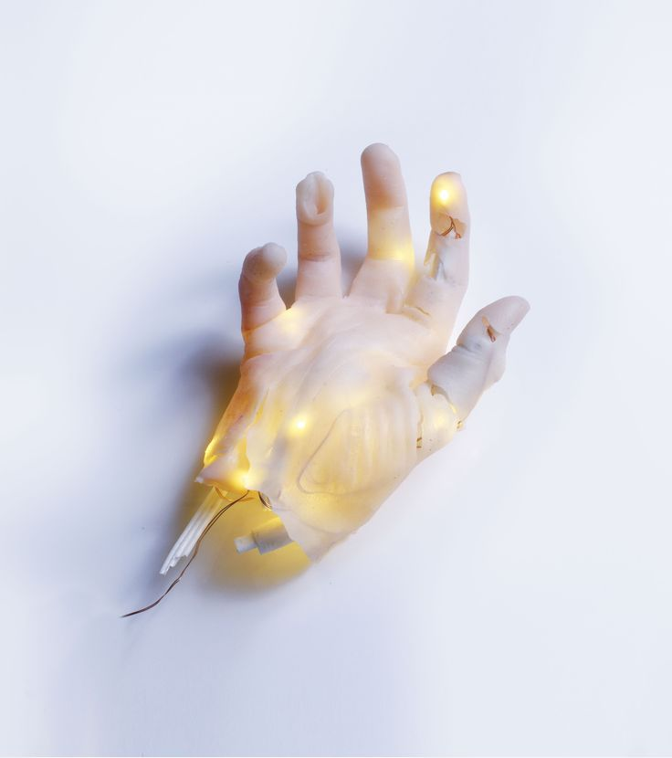 'Hand' is a silicone sculpture