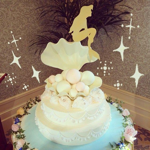 デザートをアリエルにしたから、ケーキもこれにするか悩んだ☻かわいいぃー♥︎♥︎ #disney #disneysea #disneyhotel #wedding #disneywedding #weddingcake #cake #bridal #fairytalewedding #miracosta #ariel #princess #tokyodisneyresort #tdr #followme #ディズニー #ディズニーシー #東京ディズニーリゾート #ディズニーウェディング #ウェディング #ブライダル #ウェディングケーキ #ケーキ #ミラコスタ #ホテルミラコスタ #アリエル #ブライダルフェア #結婚式 #フェアリーテイルウェディング #ホテルミラコスタ