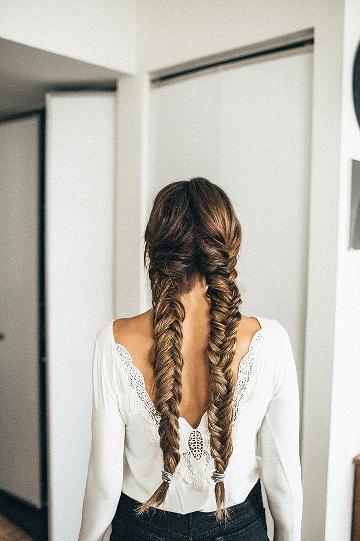 best 25 fishtail braids ideas on pinterest