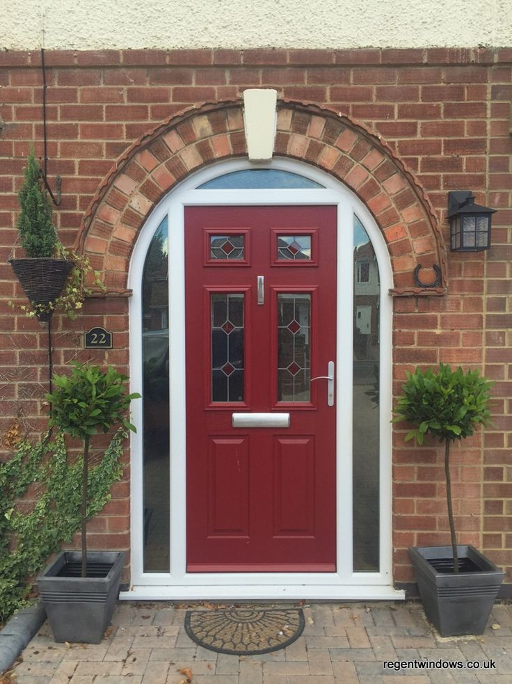 Style Of Arched posite front door in Churchdown Jan 2016 Lovely - Elegant arched entry doors Top Design