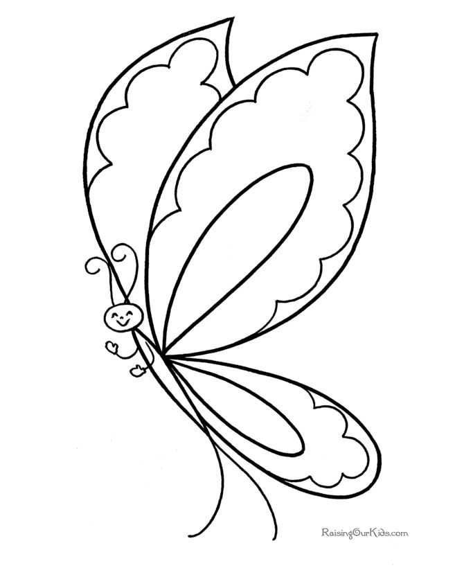 97 best Kids-Butterfly printables, crafts, coloring pages, clip ...