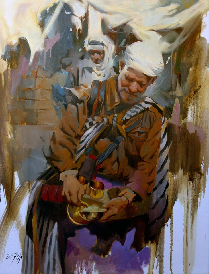 Iraqi Artist Horse Paintings