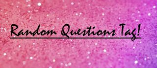 The Book of Jules: THE RANDOM QUESTION TAG