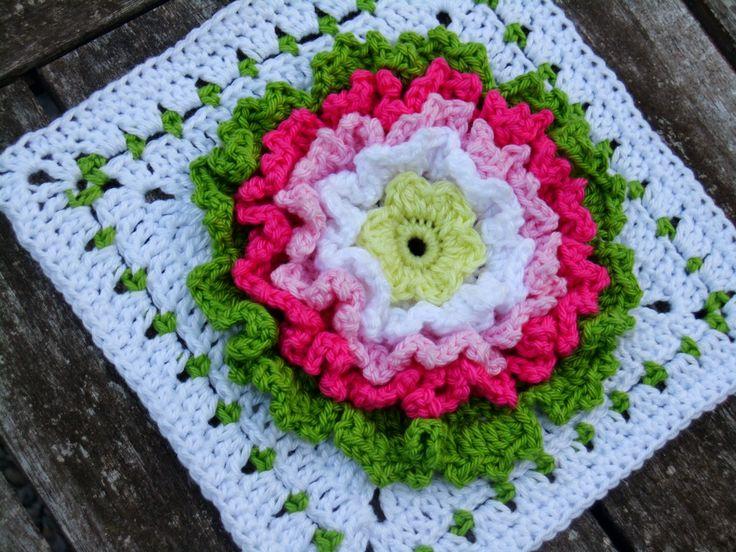 70 besten Granny squares Bilder auf Pinterest   Häkelmotiv, Omas ...
