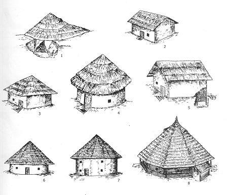 Dacian houses