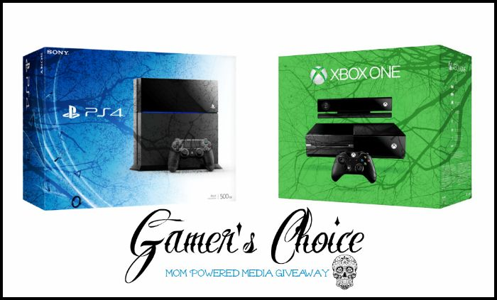 Gamer's Choice Giveaway: Win a PS4 or Xbox One! (Ends 3/25) - The Freebie Addiction
