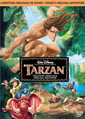 Tarzan @ niftywarehouse.com #NiftyWarehouse #Disney #DisneyMovies #Animated #Film #DisneyFilms #DisneyCartoons #Kids #Cartoons