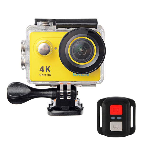 アスレチックスポーツカメラEKEN H9R 4KウルトラHD 2.170度のWi-Fiを提供リモート遠隔4G角