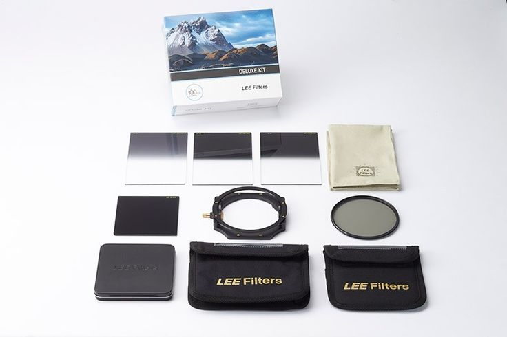 LEE Filters introduces the 100mm Deluxe filter kit  LEE Filters introduces the 100mm Deluxe filter kit, containing no fewer than five filters, as well as a Filter Holder that comes ready assembled with two...