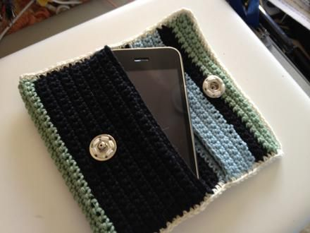 Crochet Wallet - Project - The Spotlight Inspiration Room | Australia