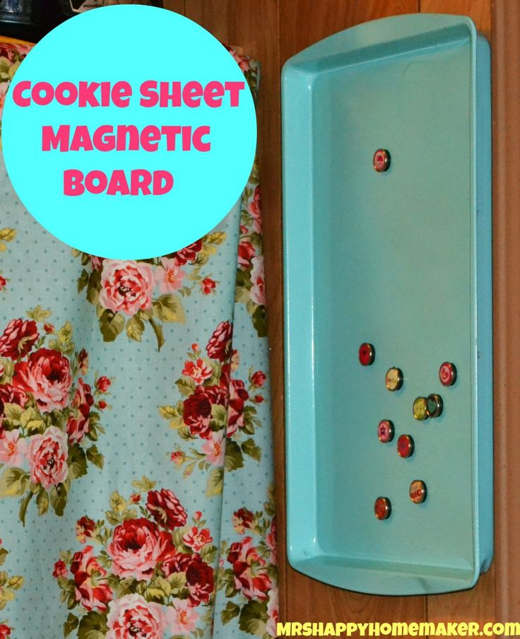 17 best ideas about cookie sheet board on pinterest for Thin magnets for crafts
