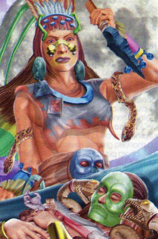 TORRES: DIOSES AZTECAS