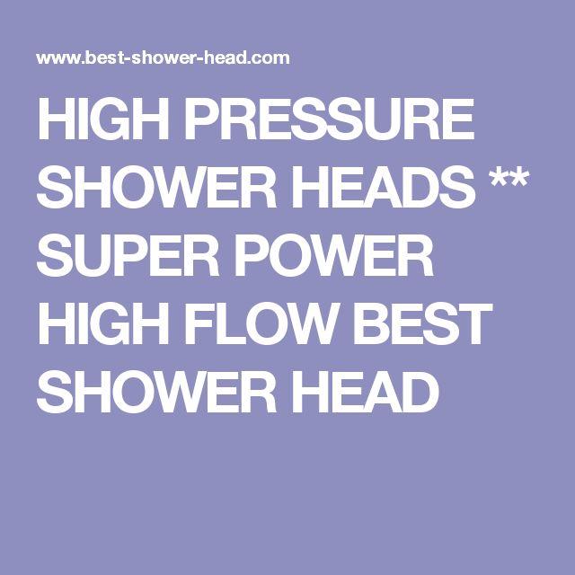 The  Best High Pressure Shower Head Ideas On Pinterest Low - Best rain shower head with high pressure