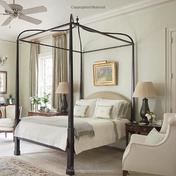 1000 ideas about 4 poster bedroom on pinterest bedroom suites queen canopy bed and 4 poster beds - Poster bed canopy ideas ...
