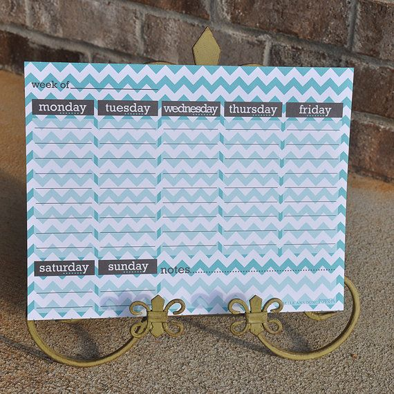 Teal Calendars with donation to Ovarian Cancer Research