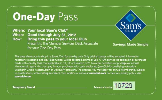 sams club coupons codes