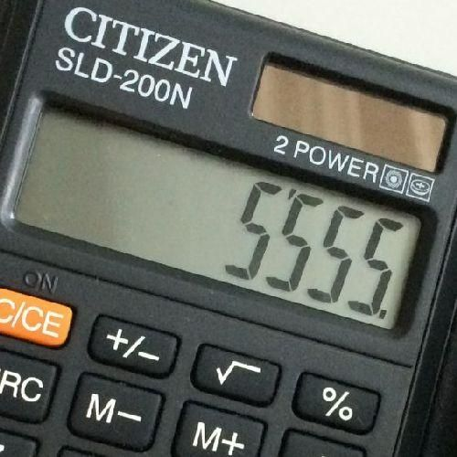 Zsebszámológép 8 számjegyes, nagy kijelzővel Citizen SLD-200N Ft Ár 879
