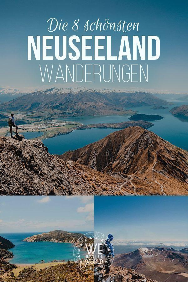 Neuseeland Tipps: Die 8 schönsten Neuseeland Wanderungen der Nord- und Südinsel