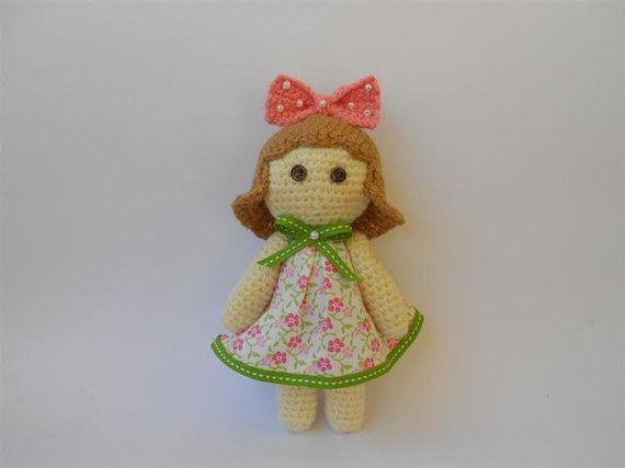 Crochet Doll Amigurumi Doll Handmade Doll by PinkOliveGifts