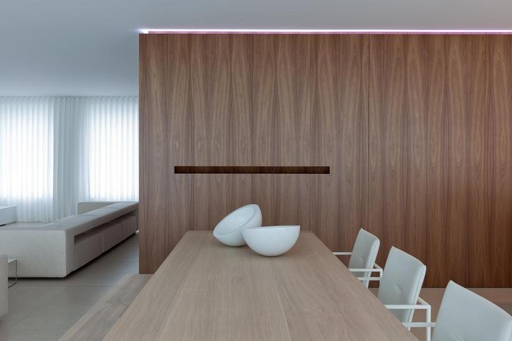 Interior by Belgian architect Filip Deslee.
