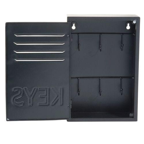 Boîte à clés en métal H 30 cm BLACK KEYS