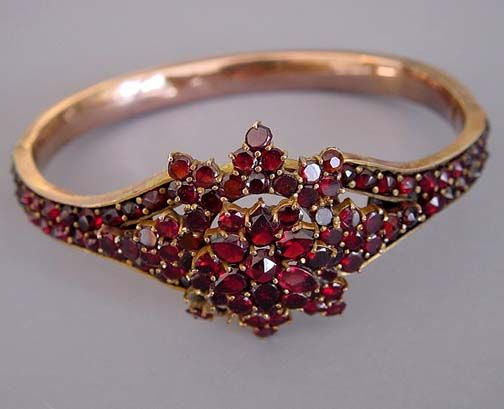246 best GRENAT garnet granate CONTEMP jewelry images on Pinterest