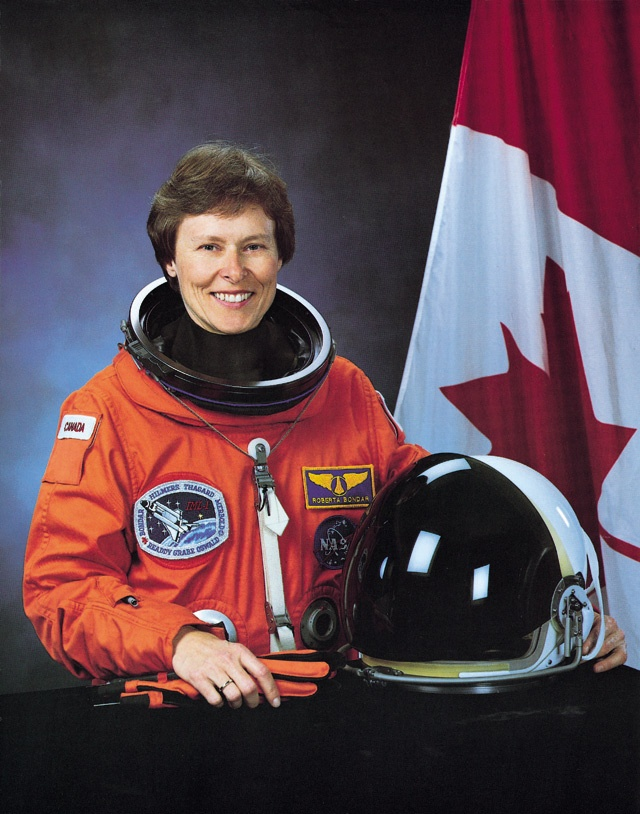Roberta Bondar OC O.Ont FRCP FRSC is Canada's first female astronaut and the first neurologist in space.