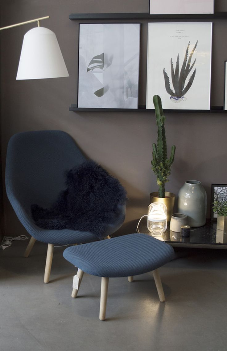 Introducing: our designer Sara from Hamburg. Styling of the About a Lounge Chair by Hay for Lys Vintage.