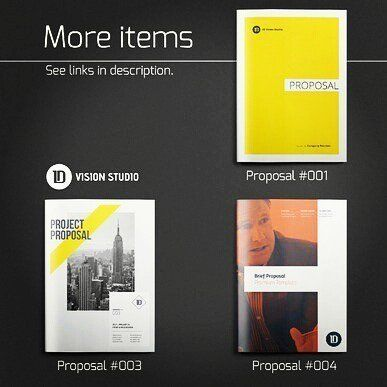 designeour:    Bundle: 8 #Presentation Folders by ID Vision...