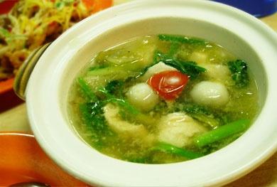 Fish Soup (Sop Ikan), Batam
