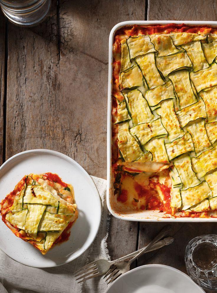 Lasagnes végétariennes aux légumes rôtis. Variante très sympa et facile à faire ! #healthyfood #eatgoodlivewell