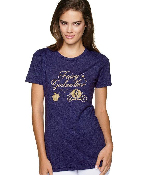 fairy godmother shirt fairy godmother costume by SallysShoppee