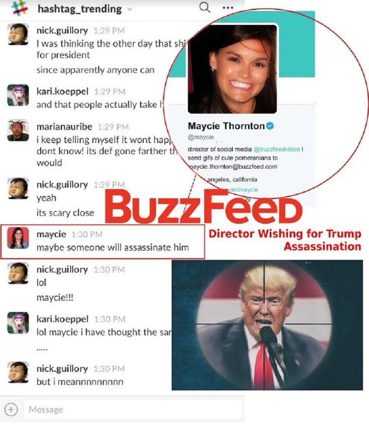 """BuzzFeed, the outlet behind the infamous and absurd """"Golden Showers"""" dossier, has more than a bit of disdain for President Donald Trump — as proven through these leaked conversations from their private workplace chat. In screenshots exclusively provided to Big League Politics by former BuzzFeed employee Tim """"Treadstone"""" Gionet, better known as Baked Alaska, the …"""