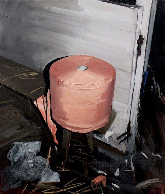 SARA-VIDE ERICSON Comfort, 2014 oil on canvas 65 × 55 in 165.1 × 139.7 cm