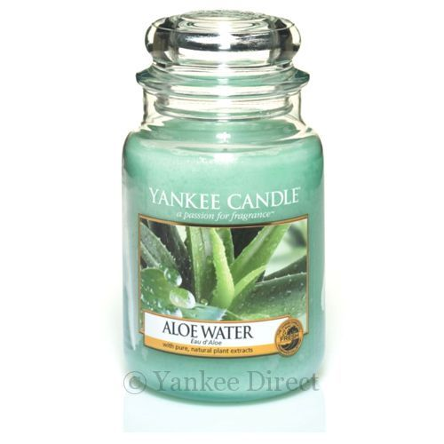 Yankee Candles UK | Yankee Candle Aloe Water Large Jar